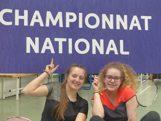 BADMINTON – Championnat national UGSEL 2018