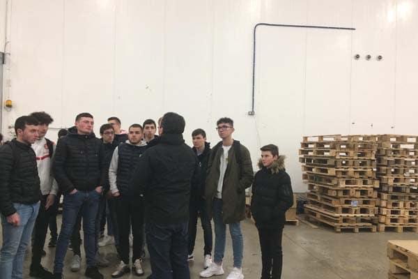 1ère Logistique – Visite de la Scarmor