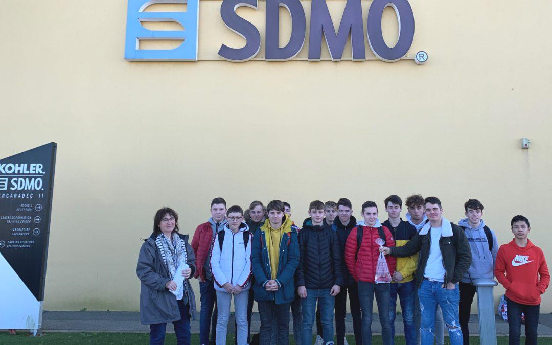 Les 2ndes BAC Pro LOGISTIQUE visitent KOHLER SDMO