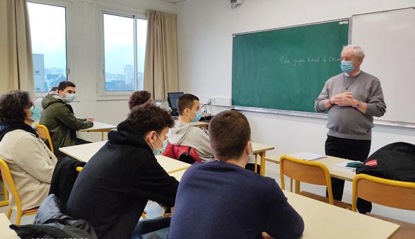 Intervention du Frère Jacques-Vincent LE DRÉAU – Quel adulte je veux devenir demain ?
