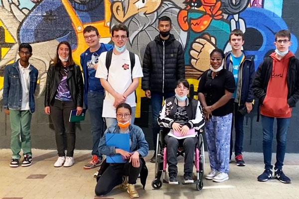 Les lycéens du CAP Opérateur Logistique et les Ulis Pro visitent le Spote